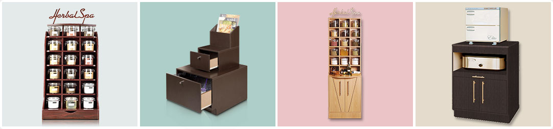 Nails Furniture Display Cabinets