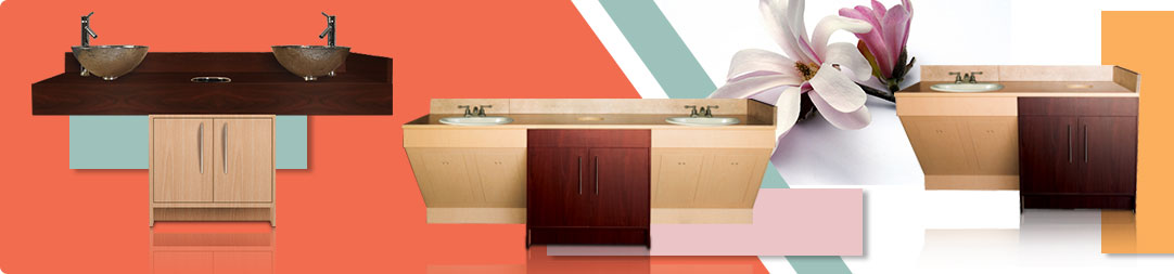 Sink Counters & Cabinets