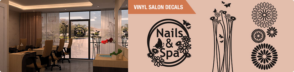 Vinyl Salon Decals