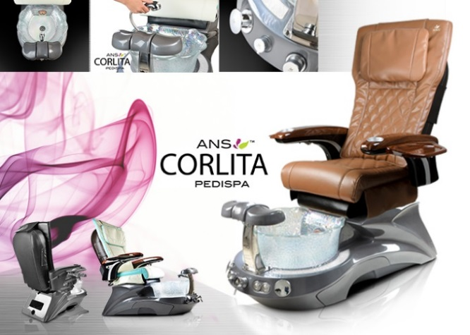 Corlita Spa & Scallop Sink