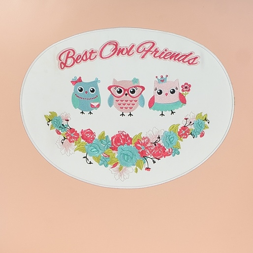 Contempo Kidspa II-Peach Best Owl Friends
