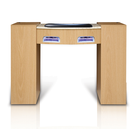 Classic Manicure Table with UV Gel Lights